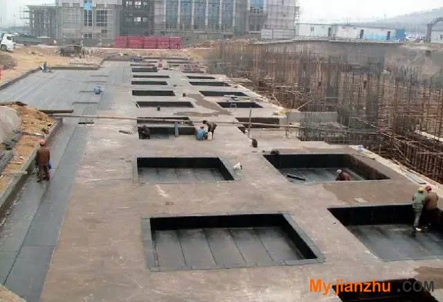 教你地下防水工程施工的做法