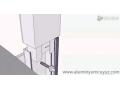 干挂石材幕墙安装超逼真3D演示 (876播放)