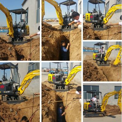 先导操作微型挖土机18款挖土机