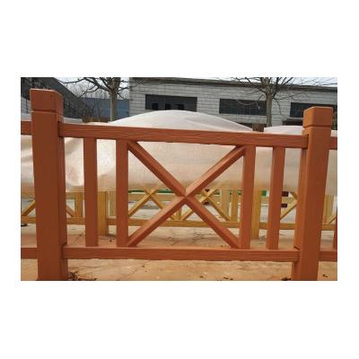 1.8米仿木单X型护栏,模具