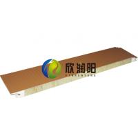 【外墙横装板】 浙江杭州金属幕墙横铺式聚氨酯封边岩棉板厂家