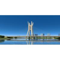 郑东新区龙湖内环路跨北引水渠桥