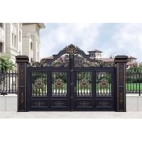 2021新款铂莱定做别墅铝艺大门院子门